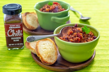 This chili seasoning blend goes great with any Super Bowl dish.