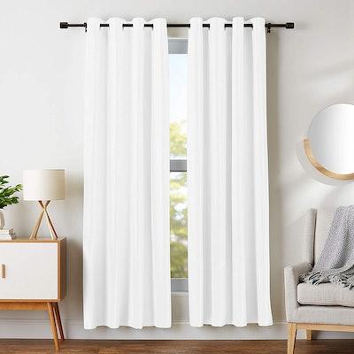 AmazonBasics Blackout Curtains (2-Piece)
