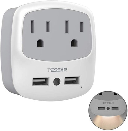 TESSAN Outlet Adapter