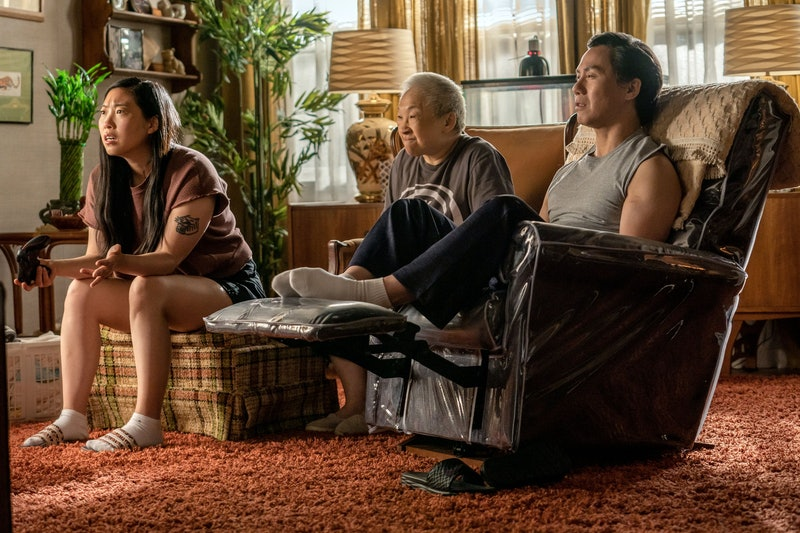 "Awkwafina, BD Wong and Lori Tan Chinn in ""Awkwafina is Nora From Queens"""