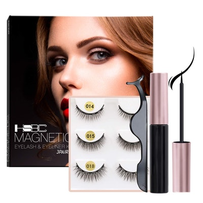 HSBCC Coolours Magnetic Eyeliner and Lashes (3 Pairs)
