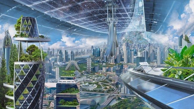 Blue Origin city