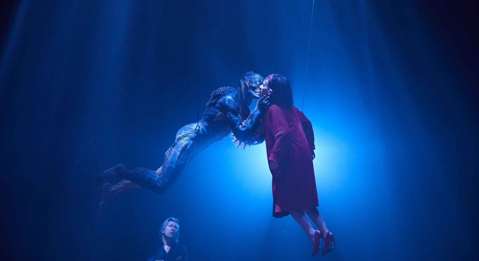 Behind the scenes on 'The Shape of Water' (2017).