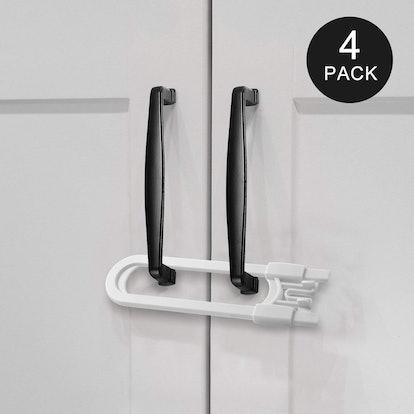 Adoric Cabinet Locks (4-Pack)