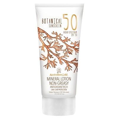 Australian Gold Botanical Sunscreen Mineral Lotion SPF 50