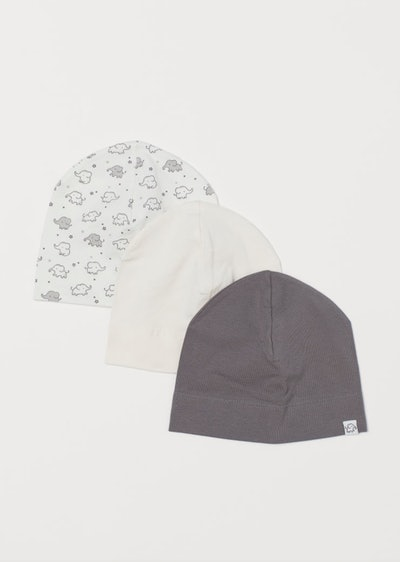 3-Pack Cotton Jersey Hats