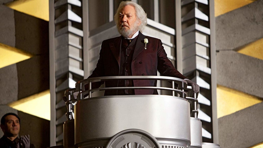 President Snow is the focus of the 'Hunger Games' prequel book