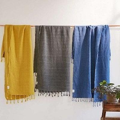 Clotho Towels Turkish Hand Towels (4-Piece)
