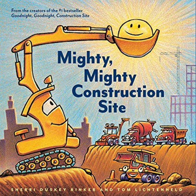 Mighty Mighty Construction Site Audible Book Cover