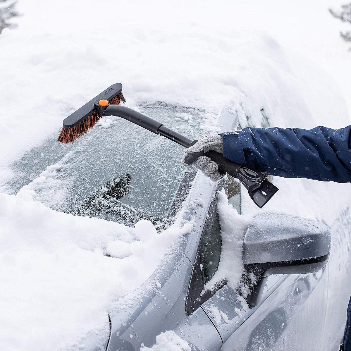 BIRDROCK HOME Ice Scraper Brush