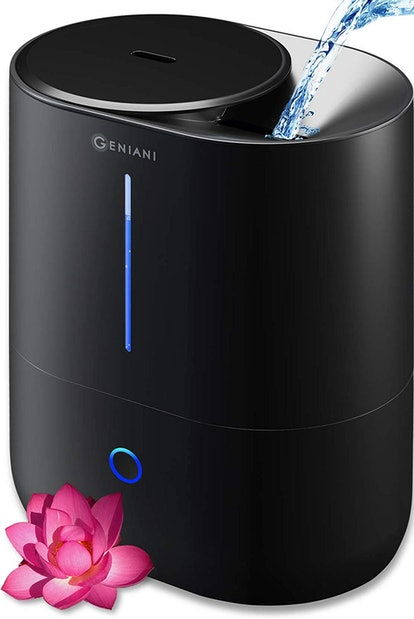 GENIANI Top Fill Cool Mist Humidifier And Essential Oil Diffuser