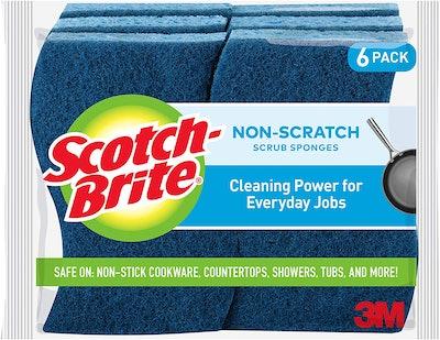 Scotch-Brite Non-Scratch Scrub Sponge (6-Pack)
