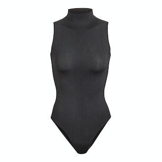 Sleeveless Mock Neck Bodysuit