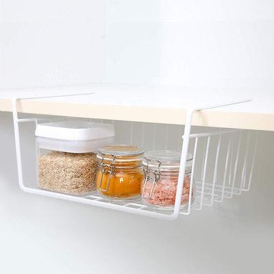 Smart Design Undershelf Storage Baskets (6-Pack)