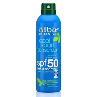 Alba Botanica Clear Spray Sensitive SPF 50 Sunscreen