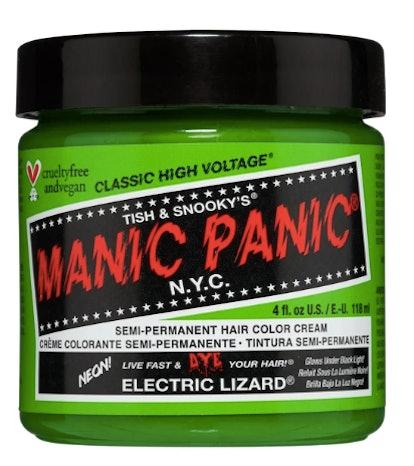"""Hair Dye """"Electric Lizard"""""""
