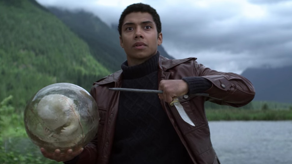 Ambrose holds Blackwell's Time Egg in 'CAOS' Part 3
