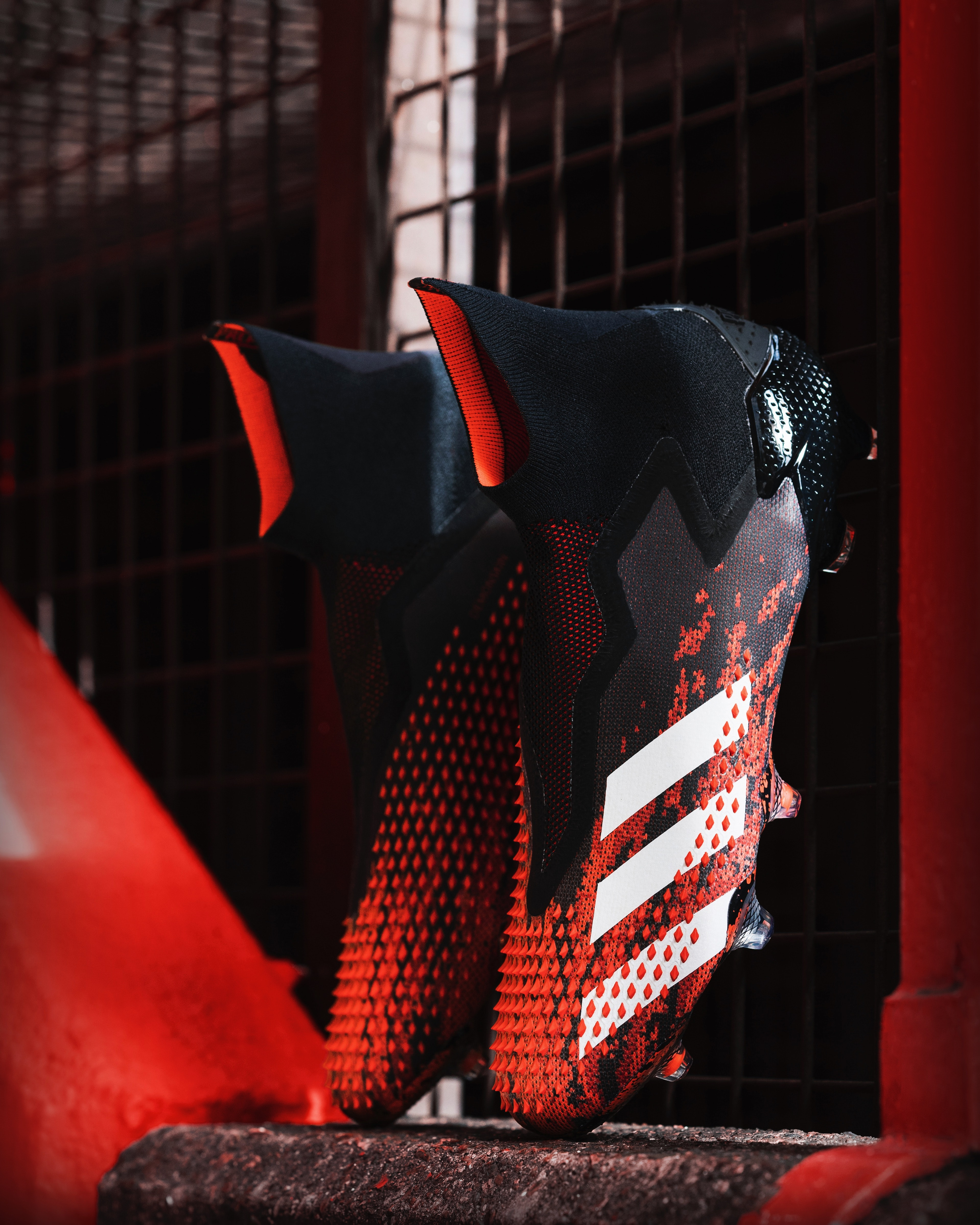 "Adidas wraps its soccer cleats with ""Demonskin"" grip technology"
