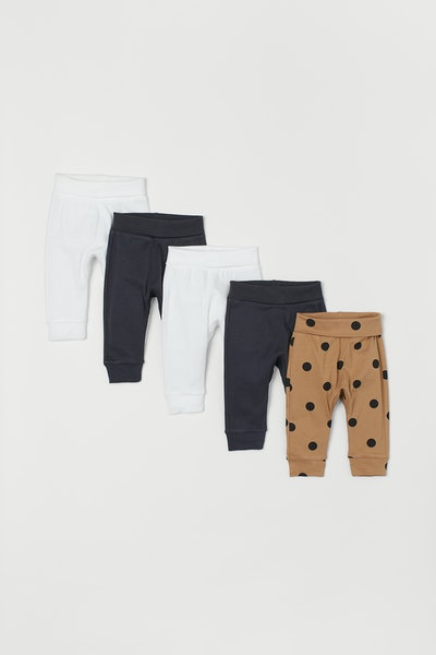 5-Pack Cotton Pants