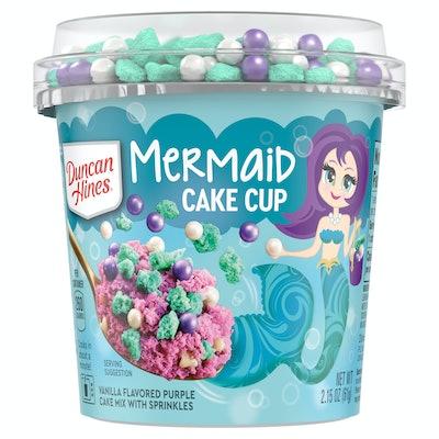 Mermaid Cake Cup