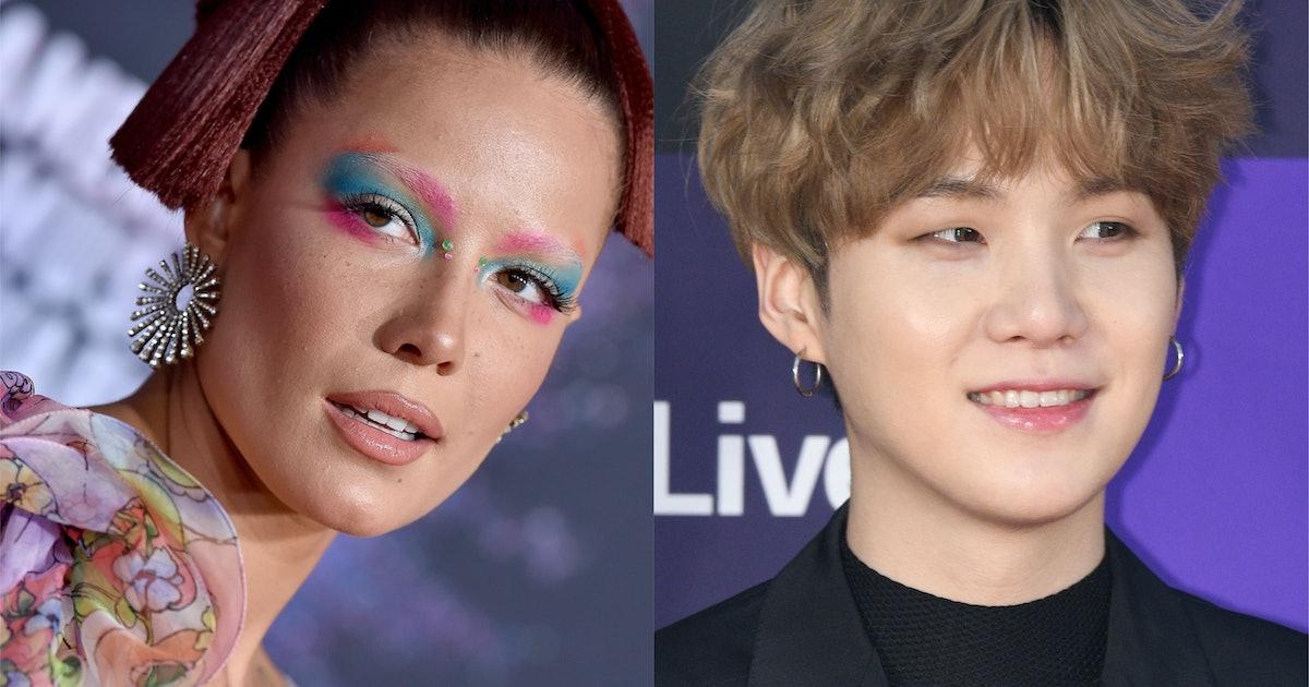The Reason Halsey Chose BTS' Suga For A 'Manic' Collab Makes So Much Sense