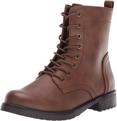 Amazon Essentials Women's Lace Up Combat Boot