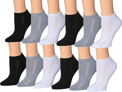 Tipi Toe Low-Cut Socks (12 Pairs)