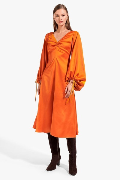 Sofia Dress / Rust