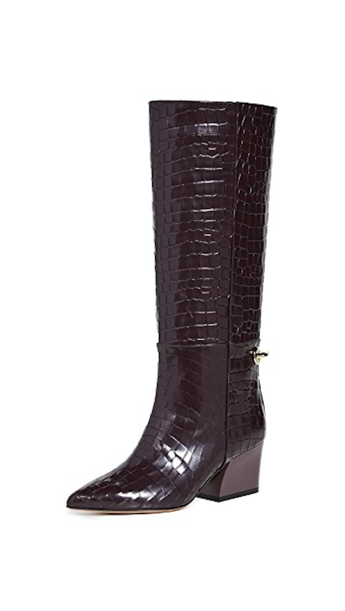 Prune Rowan Boots