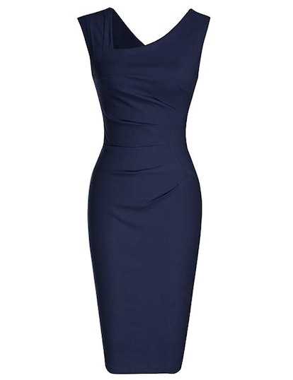 MUXXN Women's Retro Pencil Dress