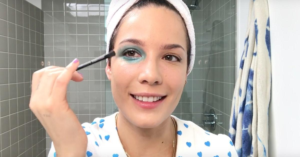Halsey's 'Manic' Makeup Tutorial Includes A Ton Of Helpful Hacks
