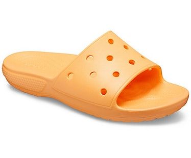 Classic Crocs Slide in Cantaloupe