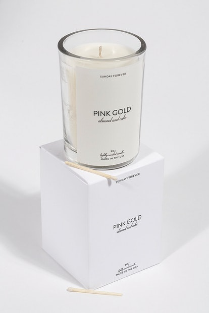 Pink Gold Candle