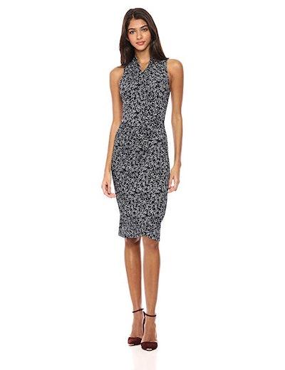 Lark & Ro Women's Sleeveless Wrap Dress