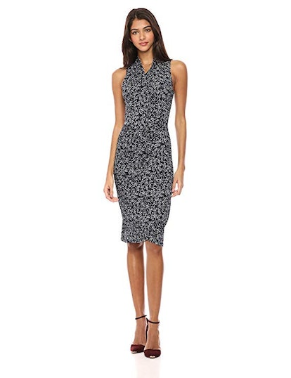 Lark & Ro Women's Sleeveless Wrap Dress