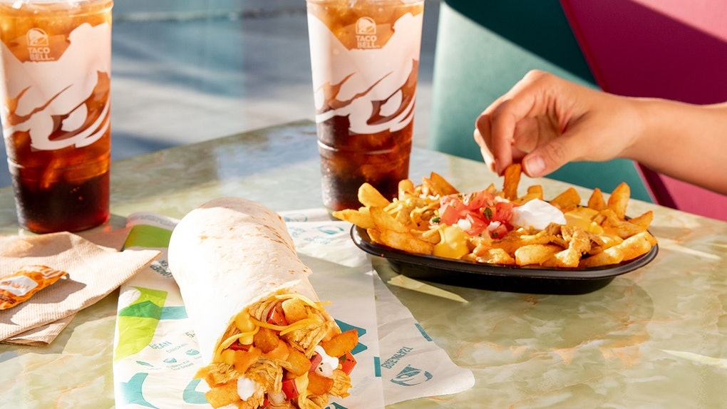 Taco Bell's New Buffalo Chicken Nacho Fries are a spicy take on the menu item.
