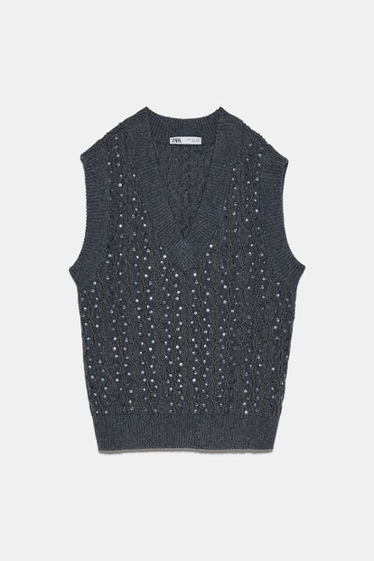 Limited Edition Beaded Sequin Vest