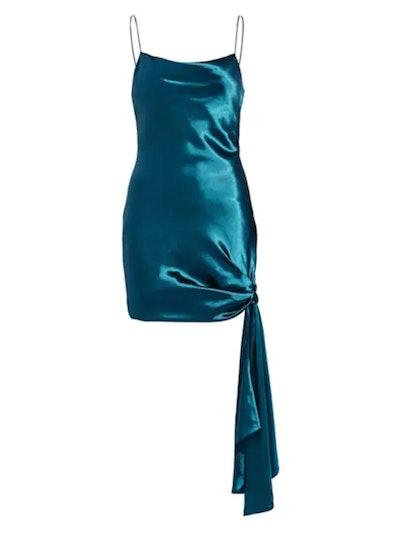 Lazuli Ryder Satin Mini Dress