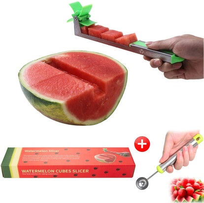 Yueshico Stainless Steel Watermelon Slicer