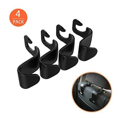EldHus Headrest Hook Hangers (4-Pack)