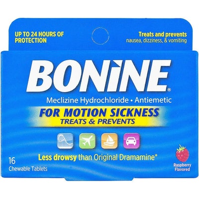 Bonine Motion Sickness Relief Chewable Tablets (16-Pack)