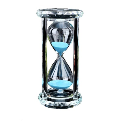 Siveit Crystal Hourglass Sand Timer