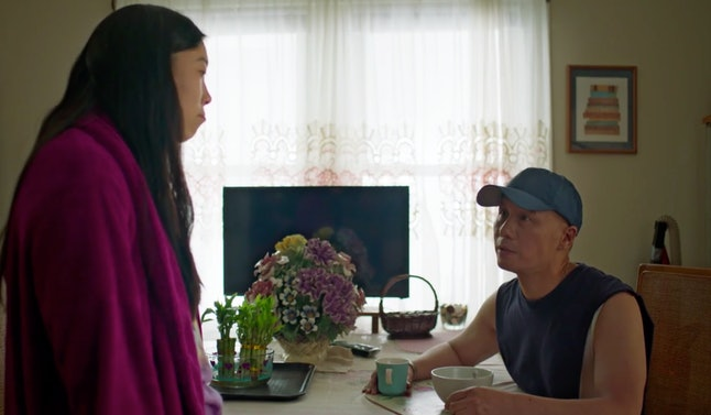 BD Wong and Awkwafina in Nora From Queens