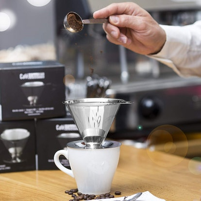 Cafellissimo Paperless Pour Over Coffee Maker