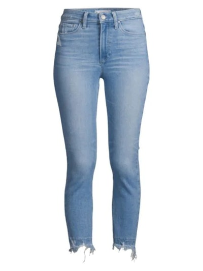 Hoxton High-Rise Cropped Undone Jeans