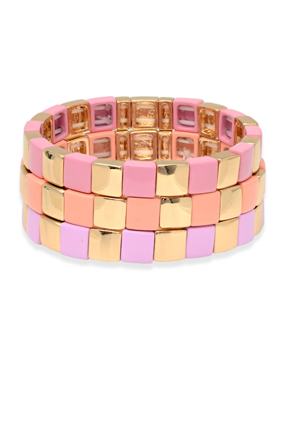 At First Blush Bracelet - Set Of Three