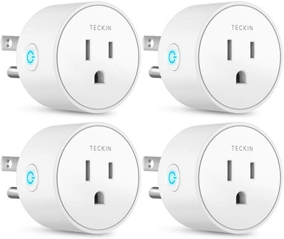 Smart Plug Works with Alexa Google Assistant IFTTT for Voice Control