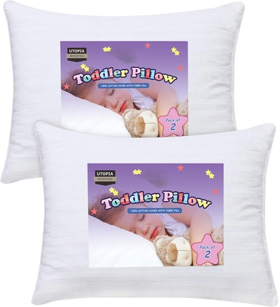 Utopia Bedding Toddler Pillow (2-Pack)