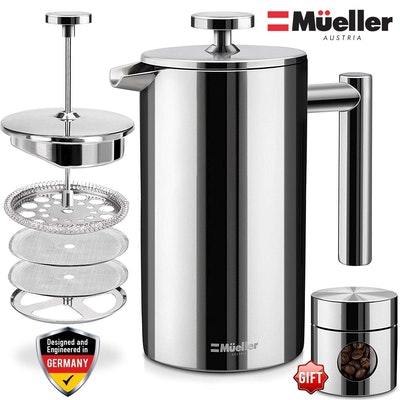 Double Insulated Stainless Steel French Press
