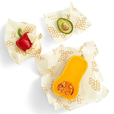 Reusable Beeswax Food Wraps with Jojoba Oil